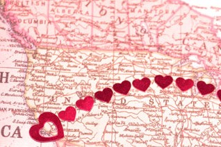 Long-distance love: Are you coordinating a wedding cross country?