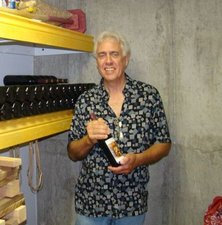 Jim is developing his own idea for a vintage winery,, one of the many interests he shares with Joanne.