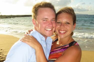 George and Jessica met on CatholicMatch one year ago.