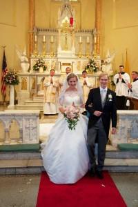 A blessed couple: Wedding Mass of Archduke Imre of Austria Habsburg-Lorraine to Kathleen Walker
