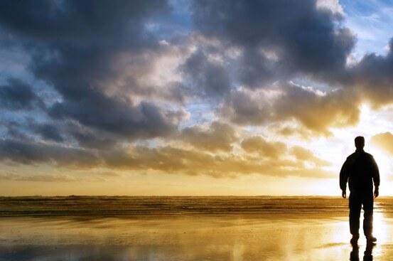 solitude beach silhouette