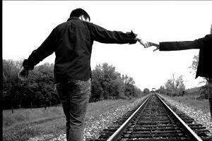 Despite different gender roles, relationships are about walking together.