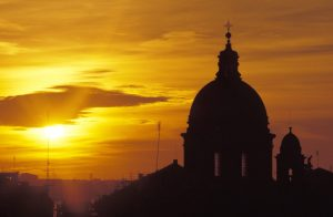 vatican-city-sunset