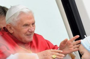 Pope Benedict XVI Visits Santiago de Compostela