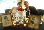 Todd & Stephanie's first-date magic ended up in wedded bliss.
