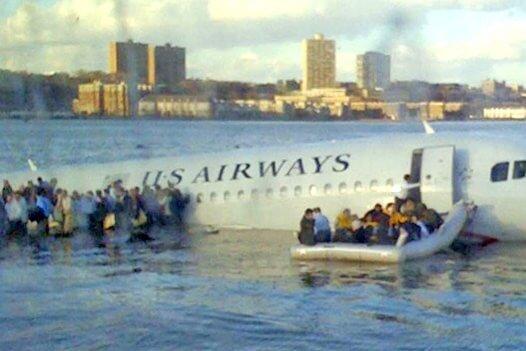 Plane Crash On The Hudson River