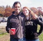 Jeffrey & Jessica have done extensive traveling, including this trip to the Army-Navy game in Philly.