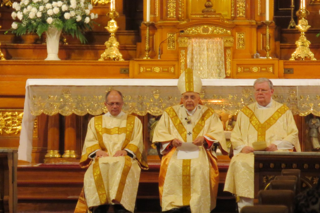 Francis Cardinal George at St. John Cantius, Chicago, IL