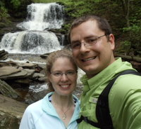 Steve & Em share many interests, hiking, but have enough differences to make them truly complementary.