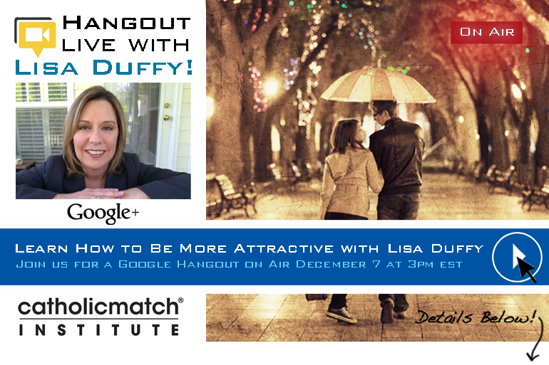 Free Hangout Live With Lisa Duffy: How To Be More Attractive (see video)