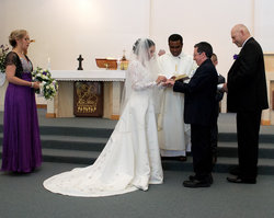 Chris & Kim were married in November and are settling into married life together.