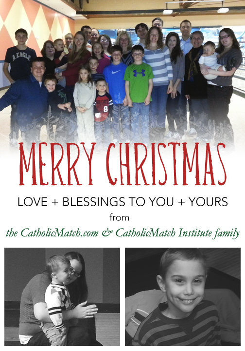 CatholicMatch Christmas Card