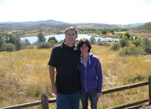 Andrew and Kathleen share a wide range of common interests, including being outdoors in their native Arizona.