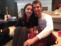 Philip and Joanna spent last Christmas morning together, and a month later they were engaged.
