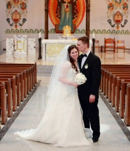 Lauren & Michael Catholic Marriage | CatholicMatch.com