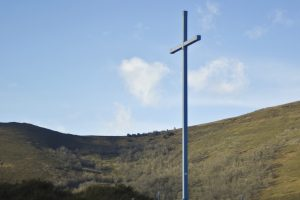 Cross on a Mountain