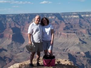 Larry & Susan-grand canyon