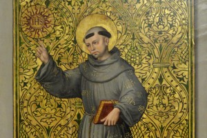 St._Bernardino_of_Siena_by_unknown_Spanish_master_-_Statens_Museum_for_Kunst_-_DSC08177