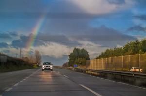 car-rainbow