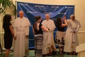NCSC14 with Popes