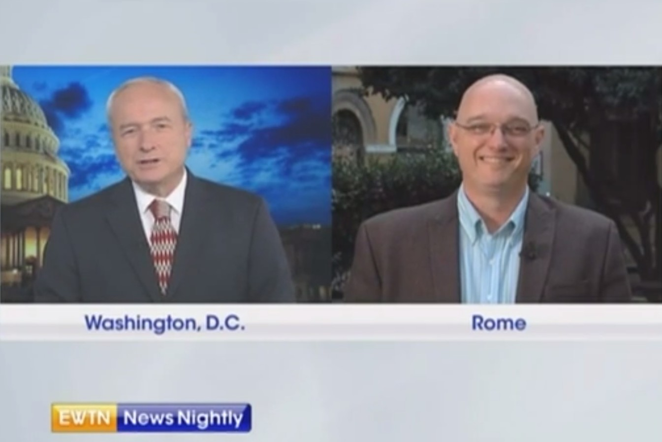 Video: EWTN appearance for Catholic Match coverage of the Synod