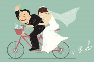wedding-bike