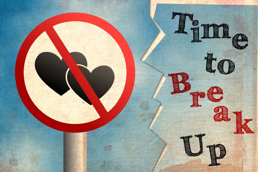 how do you know its time to break up