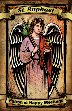 St. Raphael Prayer Card