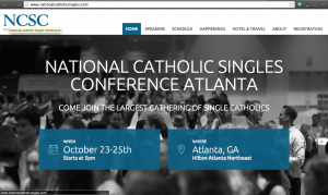 Announcement From Anastasia Northrop On Catholic Singles Conference