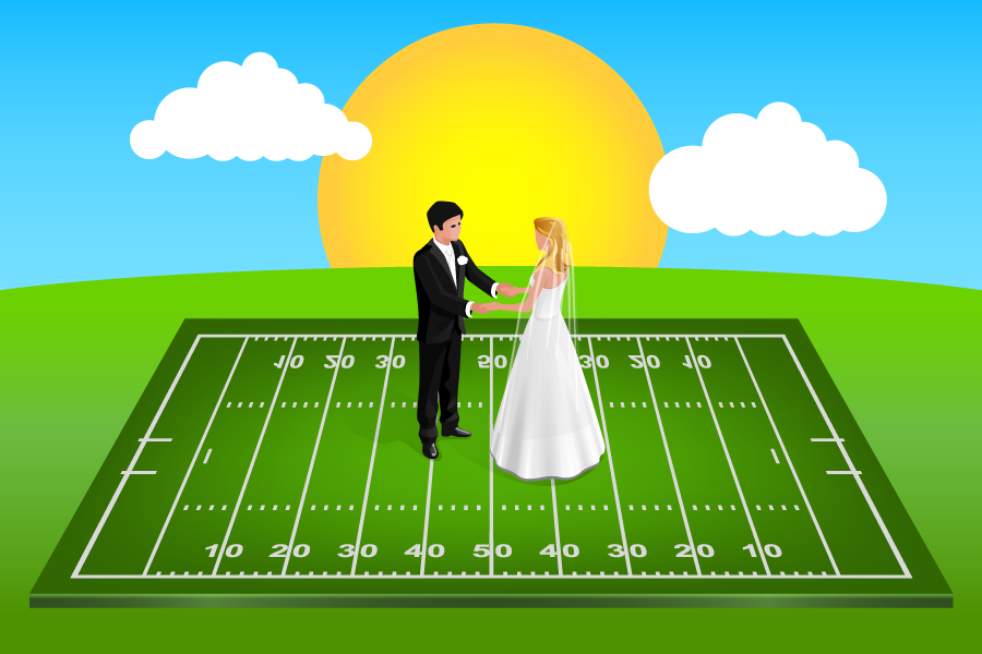 football-field-couple