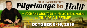 Pilgrimage and Wine/Food Tour in Italy with Fr Leo