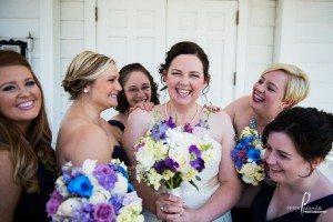 Adrienne and her bridesmaids