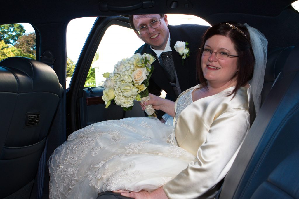 On Sally 8217 S Wedding Day A He Drove Her To The Church
