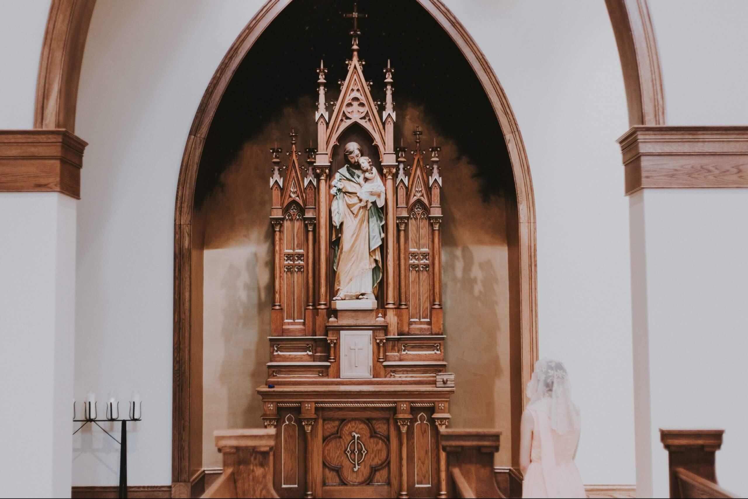 Saint single patron women of Patron Saint